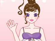 Beauty girl dress up game