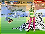 Tiger girl dress up